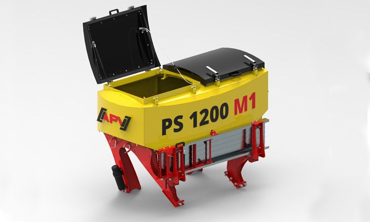 Preview of the pneumatic seeder PS 1600 M1