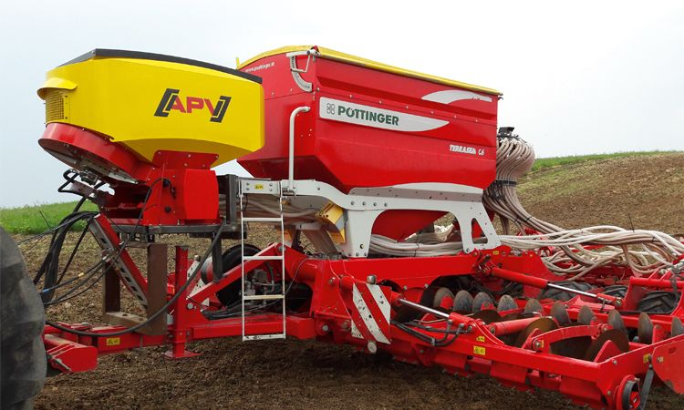 Category picture of pneumatic seeder PS 800 M1